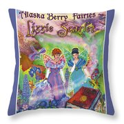 Alaska Berry Fairies Book 2 Lizzie Scarlet Throw Pillow