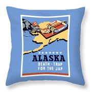 Alaska Death Trap Throw Pillow