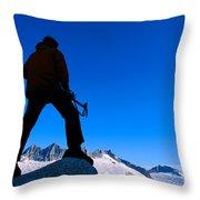 Alaska, Juneau Throw Pillow by John Hyde - Printscapes