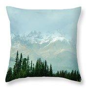 Alaska Range 2 Throw Pillow