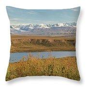 Alaska Range Throw Pillow