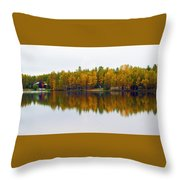 Alaska Reflection Throw Pillow