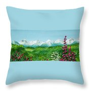 Alaska Splendor Throw Pillow
