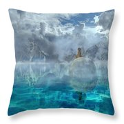Alaskan Avalon Throw Pillow