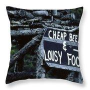 Alaskan Charm Throw Pillow