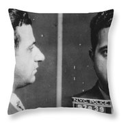 Albert Anastasia (1902-1957) Throw Pillow by Granger