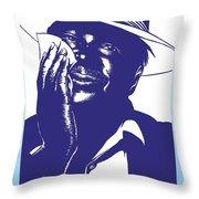 Albert King Throw Pillow