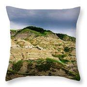 Alberta Badlands Throw Pillow
