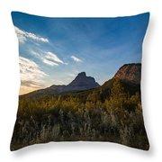 Alberta Sunrise Throw Pillow