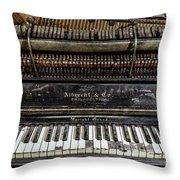 Albrecht Company Piano Throw Pillow