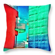 Albufeira New Town 1 Throw Pillow