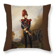 Album De Souvenirs De Ans De Bonheur Throw Pillow