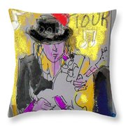 Album Srv Throw Pillow