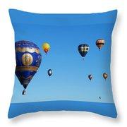 Albuquerque Balloon Festival 4 Throw Pillow