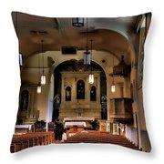 Albuquerque Church Throw Pillow