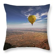 Albuquerque Flight Throw Pillow