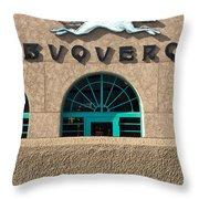 Albuquerque Hound Throw Pillow