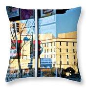 Albuquerque Reflections Throw Pillow