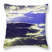 Albuquerque Sky Throw Pillow