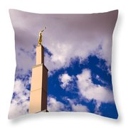 Albuquerque's Temple Throw Pillow
