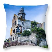 Alcatraz  Throw Pillow