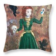 Alchemist Throw Pillow