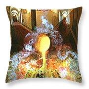 Alchemy Throw Pillow by Anne Cameron Cutri