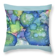 Alcohol Ink #2 Throw Pillow