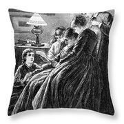 Alcott: Little Women Throw Pillow