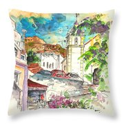 Alcoutim In Portugal 02 Throw Pillow