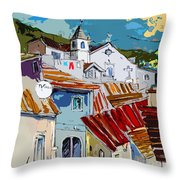 Alcoutim In Portugal 08 Bis Throw Pillow