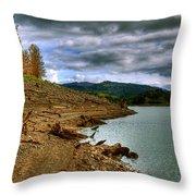 Alder Lake Throw Pillow
