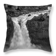Aldeyjarfoss Waterfall Iceland 3353 Throw Pillow