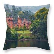 Aldourie Castle  Throw Pillow