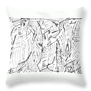 Alecs Throw Pillow