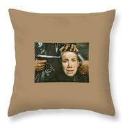 Aleksey Kravchenko As Flyora Number 2 Come And See 1985 Throw Pillow
