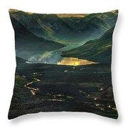 Aleutian Dip Throw Pillow