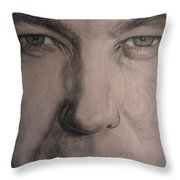 Alex Jones Throw Pillow