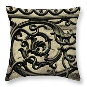 Alex Raskin Mansion Throw Pillow