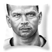 Alex Rodrigues Throw Pillow