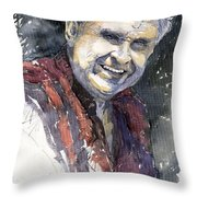 Alex Throw Pillow by Yuriy  Shevchuk