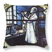 Alexander Fleming, Scottish Biologist Throw Pillow