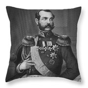 Alexander II (1818-1881) Throw Pillow by Granger