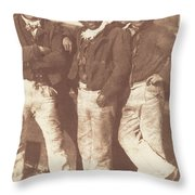 Alexander Rutherford, William Ramsay And John Linton Throw Pillow