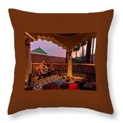 Alexander Tour Morocco 12 Throw Pillow