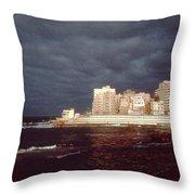 Alexandria Egypt Throw Pillow