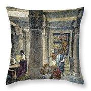 Alexandria: Library Throw Pillow