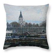 Alexandrov Sloboda Museum View Throw Pillow