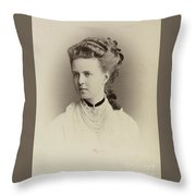 Alexandrovna Romanova Of Russia Throw Pillow