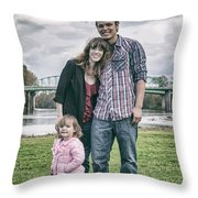 Alexbrooklynrian_analog Throw Pillow